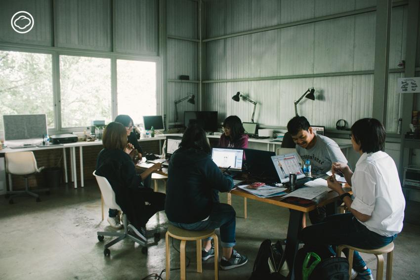 Factopia : สตูดิโอที่ชวนศิลปินมาแบ่งปันพื้นที่ทำงานศิลปะร่วมกัน