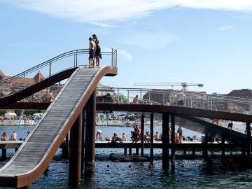 Kalvebod Brygge : ทางเลียบแม่น้ำของโคเปนเฮเกนที่ช่วยให้คนกับแม่น้ำสนิทกัน