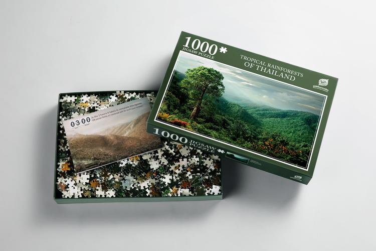 Jigsaw for Forest ระดมทุนทำจิ๊กซอว์ต่ออายุป่าไม้