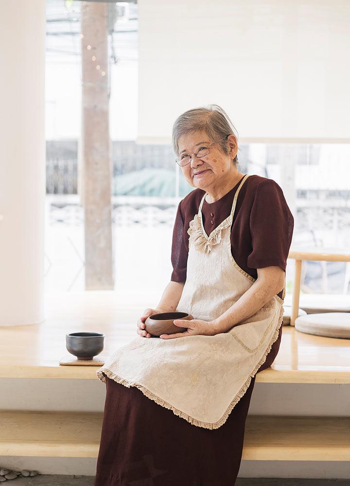 คุณยายมิตซึเอะ : นักทำซากุระโมจิสูตรดั้งเดิม