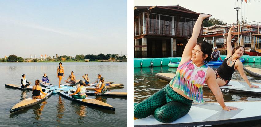 Thailand SUP Yoga