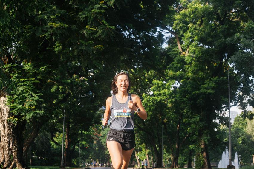 คุยกับนักวิ่งสาวผู้ก้าวสู่ตำแหน่ง IRONMAN ในเวลาไม่ถึง 3 ปี