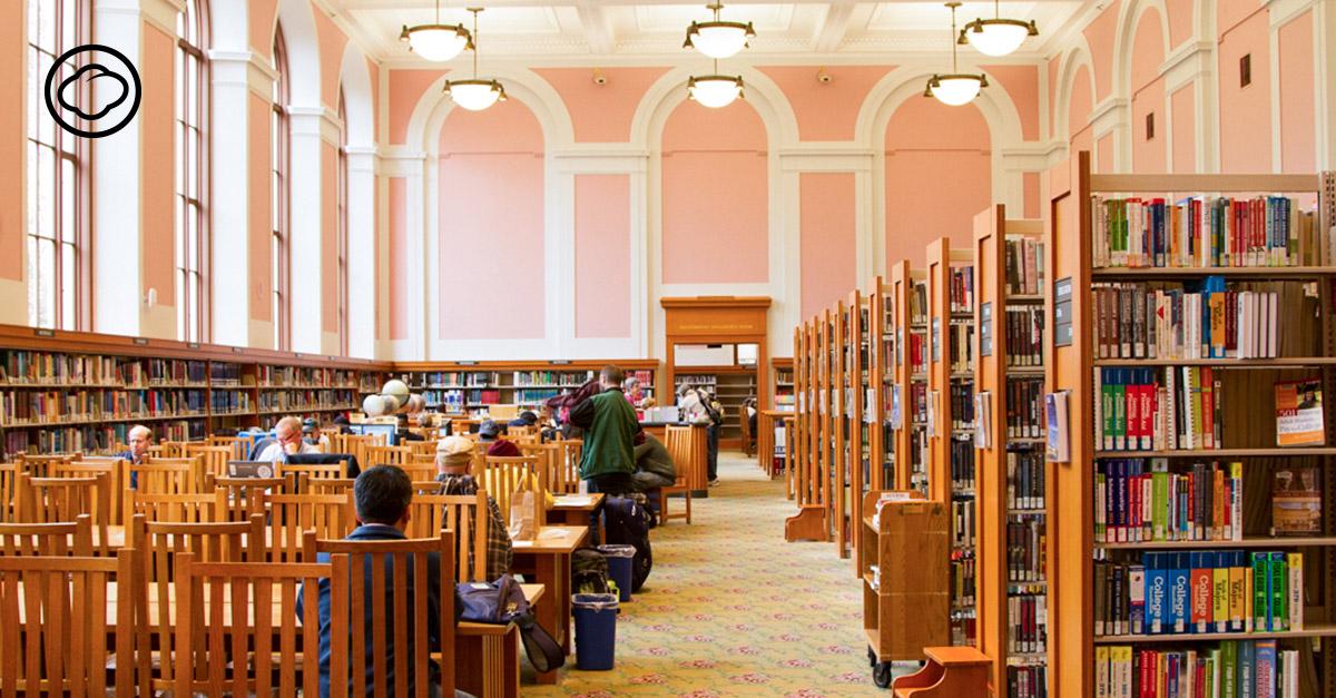ห้องสมุดในฝัน | The Cloud
