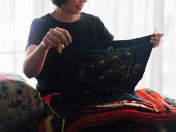 ชุติมา โมกขะสมิต นักสะสมผ้าห่มของขวัญผู้ครองผืนผ้าอายุกว่าร้อยปีของเจ้าหญิงสมัยเอโดะ