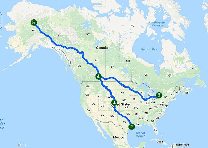 ตอนที่ 3 สามพันไมล์ก่อนถึงอะแลสกา ซ้อนมอเตอร์ไซค์จากโคโลราโดไปแคนาดา