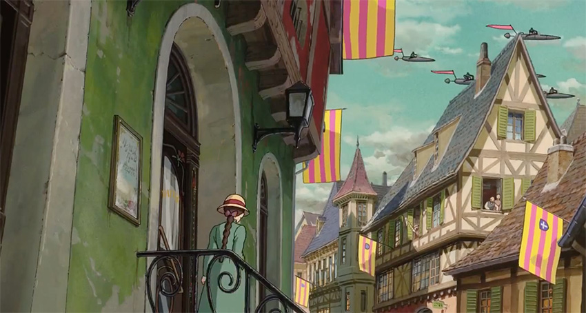 'Howl's Moving Castle'