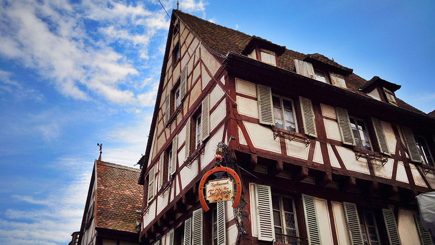 Colmar เมืองต้นแบบฉากใน 'Beauty and the Beast' และ 'Howl's Moving Castle'
