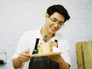 ผมอยากเป็นนักทำขนม