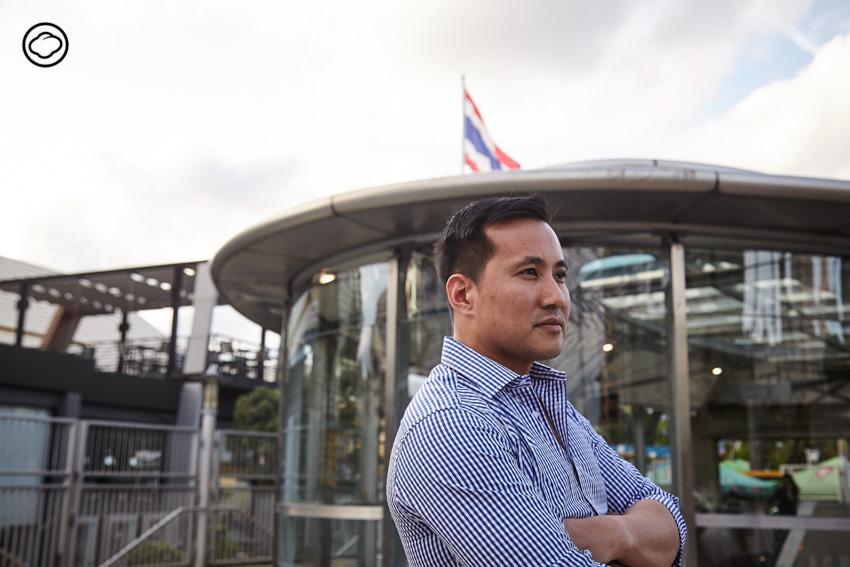 การติดตั้งเครื่องดักฝันกับสองคนไทยในดินแดนสตาร์ทอัพ