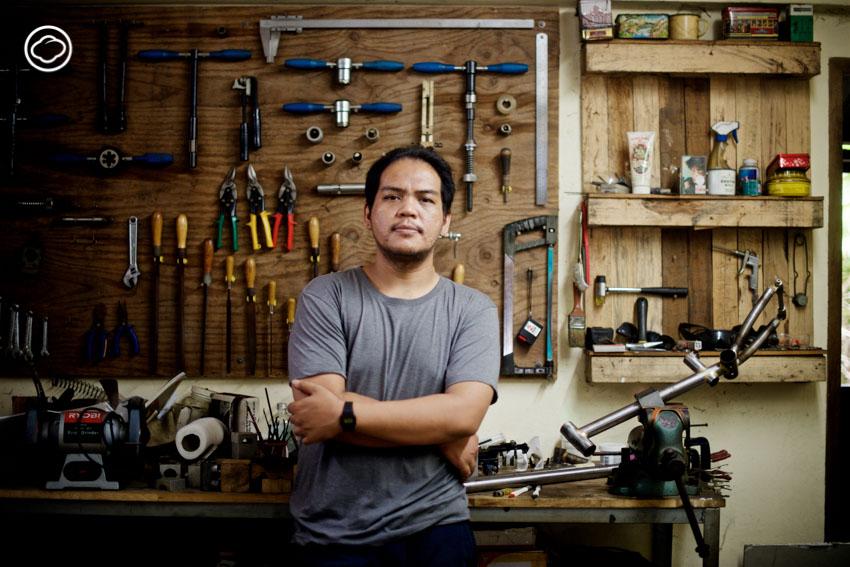 Breton Bicycles ร้านจักรยานทำด้วยมือและทำด้วยใจของช่างคนไทย