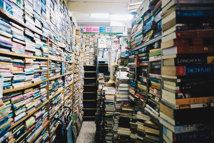 ลายแทงร้านหนังสือเก่าทั่วกรุงเทพฯ