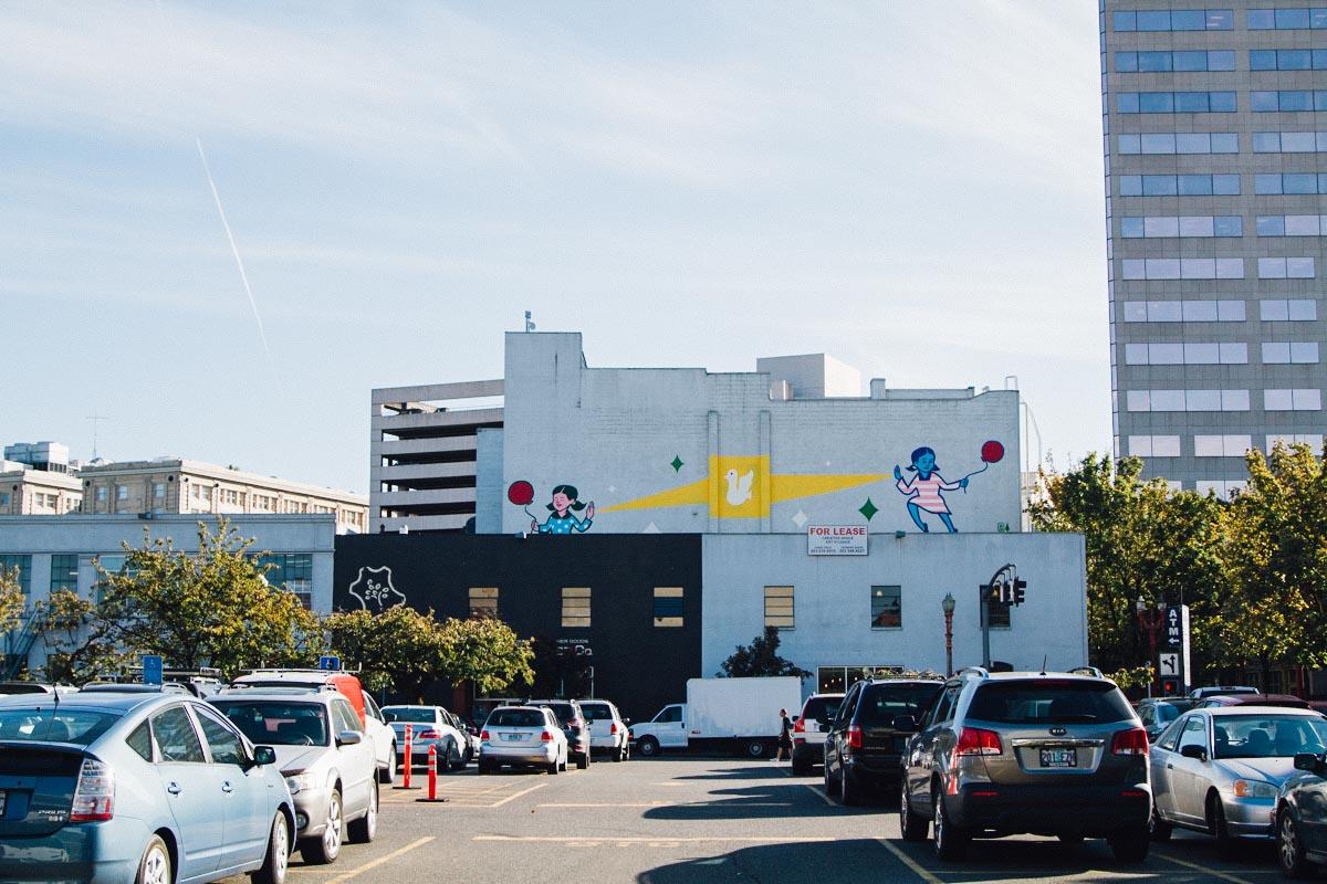 Forest For The Trees : องค์กรศิลปินที่เปลี่ยนผนังตึกทั่วพอร์ตแลนด์เป็นผลงานศิลปะชั้นดี