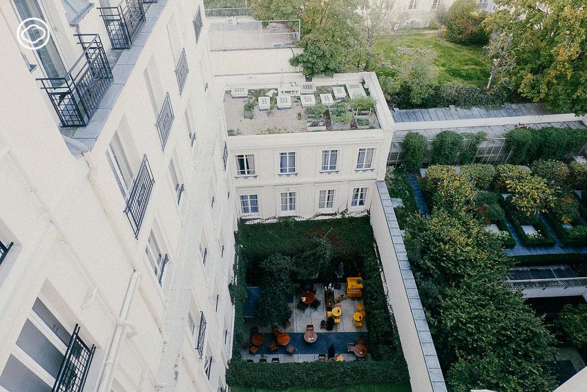 โรงแรมในปารีส