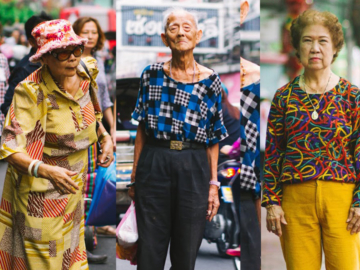 OLDKAY แฟชั่นของผู้สูงอายุในเมืองไทย