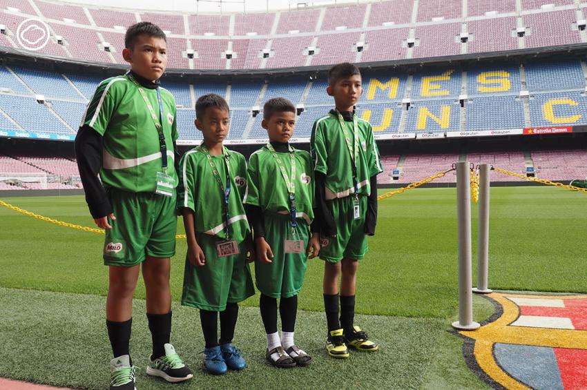 ไมโล ฟุตซอล 2017 Road to Barcelona