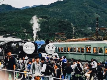 สานฝันลูกชาย ไปนั่งรถไฟ Thomas ขบวนจริงที่ Oigawa Railway