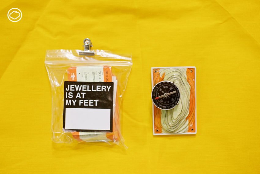 jewelry is at my feet