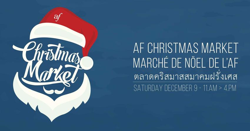 Marché de Noël de l'AF