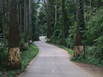 บันทึกเส้นถนนหนทางทั่วเมืองไทย