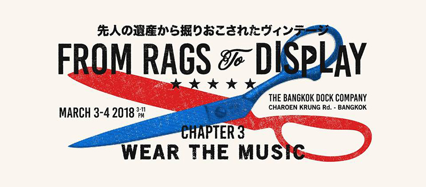 From Rag to Display Chapter 3: Wear the Music