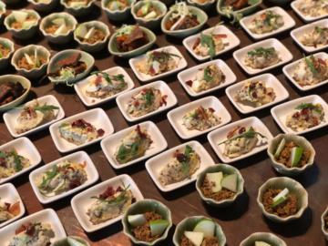 อาหารรับรองที่ปรุงจากวัตถุดิบเหลือทิ้ง ใน {Re} Food Forum งานเสวนาเรื่องความยั่งยืนของอาหาร