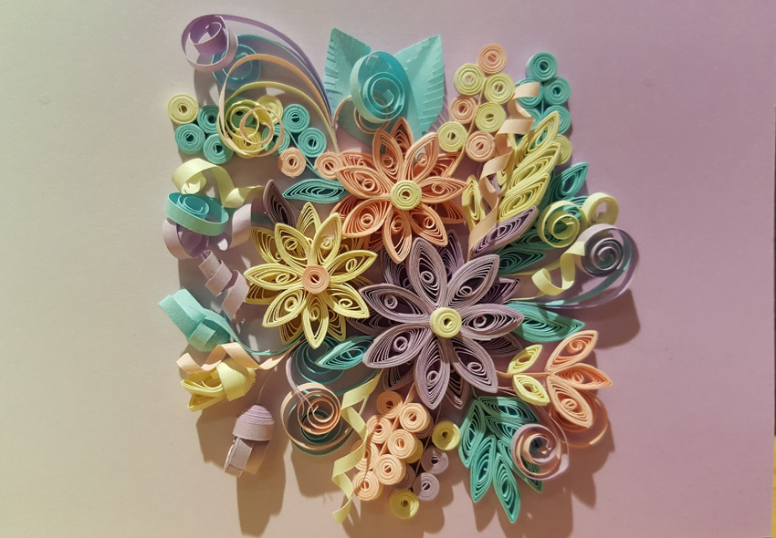 Workshop Quilling Paper Art