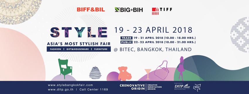 Style Bangkok Fair Big & Bih April 2018