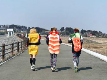 Tohoku Food Marathon วิ่งไปกินไปกับงานวิ่งที่มีอาหารญี่ปุ่นทั้งภูมิภาคโทโฮขุให้ชิมทุกจุดให้น้ำ