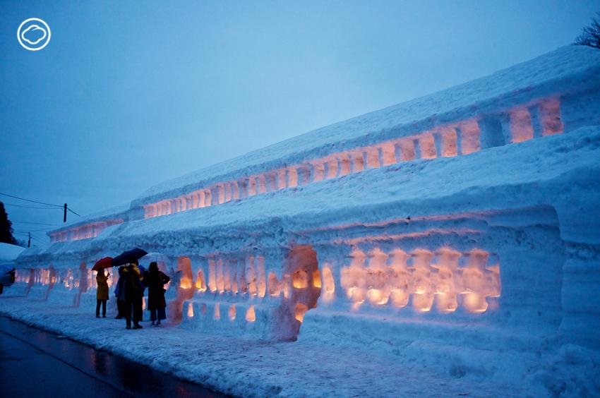 Yukihatago-no-Akari Snow Festival