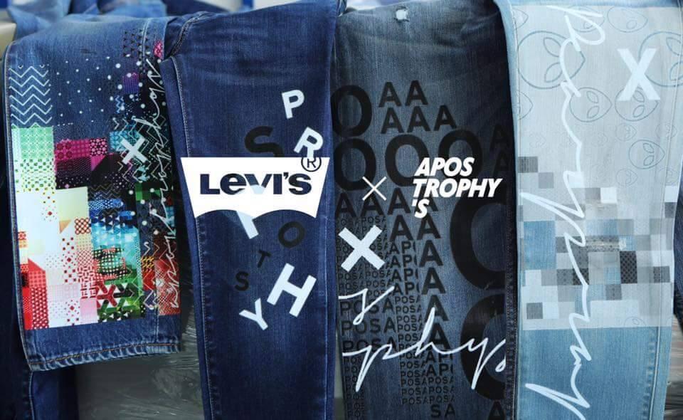 LEVI'S x Apostrophy's
