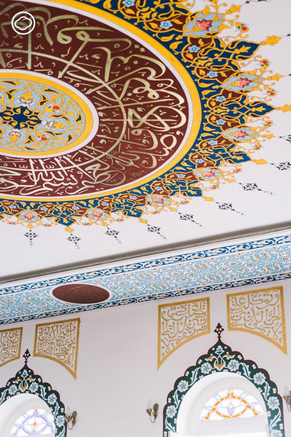 ลายแทงศิลปะอิสลามในมัสยิดและอาคารเก่าย่านเจริญกรุง