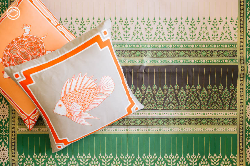Khom จากโขมพัสตร์ แบรนด์ผ้าพิมพ์ลายทำมือที่มีอายุกว่า 70 ปี ในมือทายาทรุ่นที่สาม