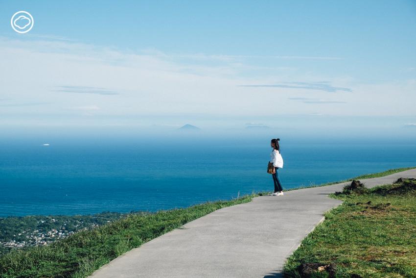 Omuro เดินรอบปากปล่องภูเขาไฟ ที่อยู่ของเทพเจ้าแห่งความรัก