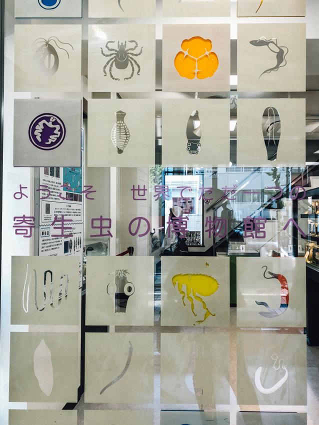 พิพิธภัณฑ์ปรสิตวิทยา มิวเซียมลับในโตเกียวที่บรรจุสิ่งมีชีวิตแสนพิสดาร