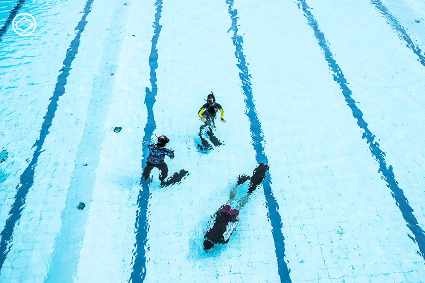 เรียนดำน้ำลึกกับครูหญิงที่สอน Freediving คนแรกของไทย