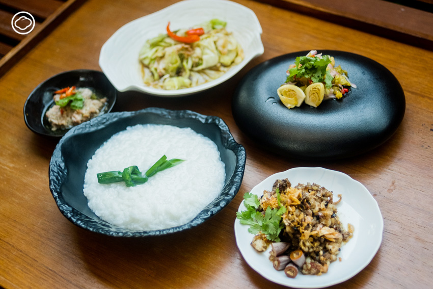 ข้าวต้มและกับข้าวต้ม เมนูอาหาร fusion จีน-ไทยที่มีอรรถรสให้เสพกว่ายุคก่อน