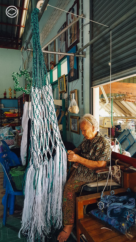 TIEnKNOT : เปลญวนดีไซน์ใหม่ของชุมชนชาวมอญจากสุพรรณบุรี