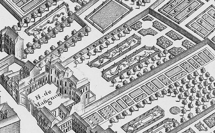 สวนทำเนียบนายกฯ ฝรั่งเศส ที่ออกแบบโดยหลานนักออกแบบสวนพระราชวังแวร์ซาย