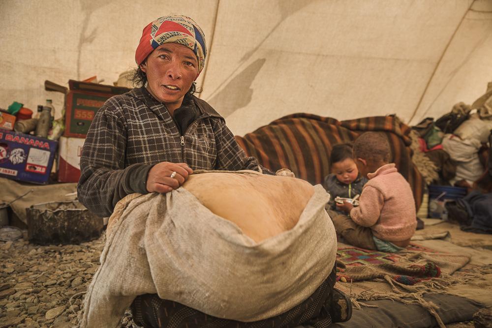 ชนเผ่าพเนจรทิเบตผู้ลี้ภัยสงครามตามองค์ดาไลลามะมาสร้างบ้านหลังที่สองในลาดักห์