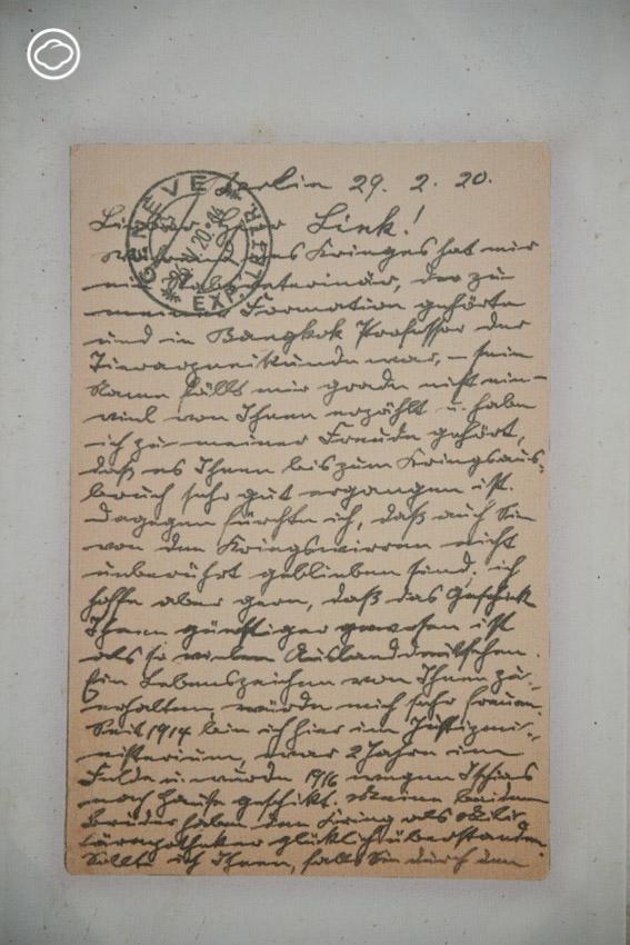 แกะรอยจดหมายเก่าห้างบี.กริม ห้างเยอรมันแห่งแรกของสยาม