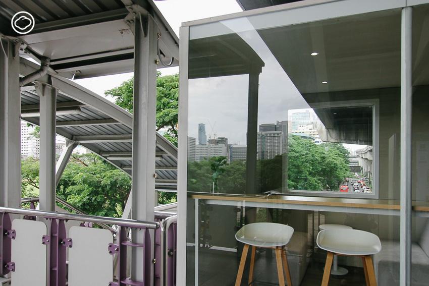 WERK พื้นที่ทำงานเวิร์คๆ บนสถานีรถไฟฟ้า BTS