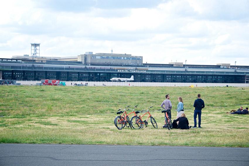 เทมเพลฮอฟ, สนามบิน, Tempelhof Field, เยอรมนี, สวนสาธารณะ