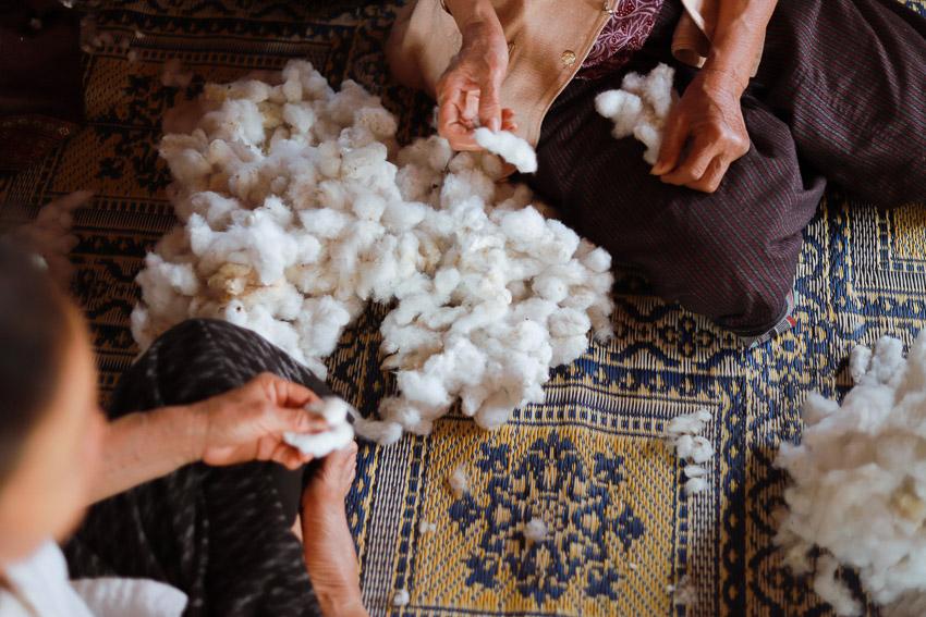 ผ้าฝ้าย, คราฟต์, FolkCharm, ชุมชน, ธรรมชาติ