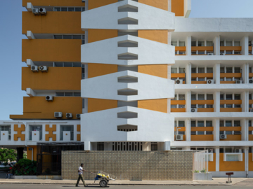 The Cement City ภาพถ่ายตึกยุคโมเดิร์นในโมซัมบิก