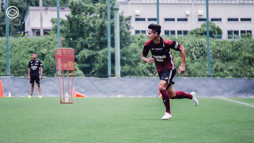 อุ้ม ธีราทร บุญมาทัน, นักฟุตบอลไทย, เจลีก ญี่ปุ่น