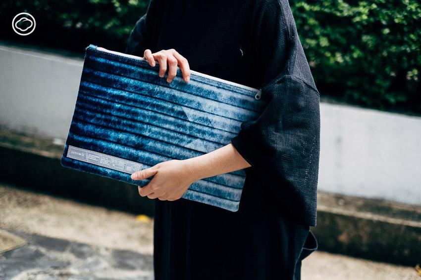 กระเป๋าผ้า, ขวดพลาสติก, รีไซเคิล, ARTWORK, สิ่งแวดล้อม, ดีไซน์