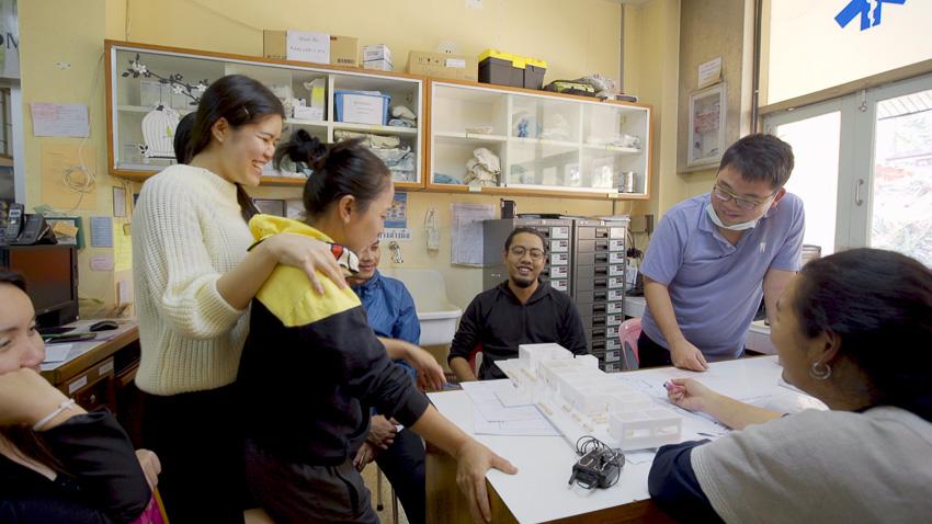 โรงพยาบาลวัดจันทร์,โรงพยาบาลชุมชน,ใจบ้าน สตูดิโอ,สถาปนิกชุมชน, ชาวปกาเกอะญอ
