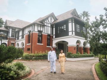 ทำเนียบทูตไทยประจำกรุงย่างกุ้ง บ้านเก่าแก่ 100 ปีสไตล์อังกฤษโบราณ ที่สร้างตั้งแต่ยุคล่าอาณานิคม