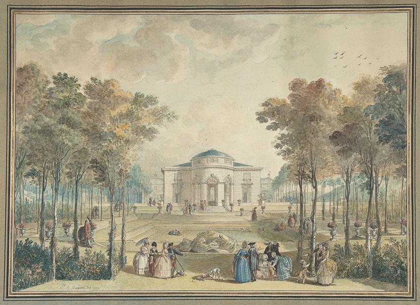 ปราสาทบากาแตล,arc de Bagatelle,พระราชินี,สวนบากาแตล,Jardin de Bagatelle