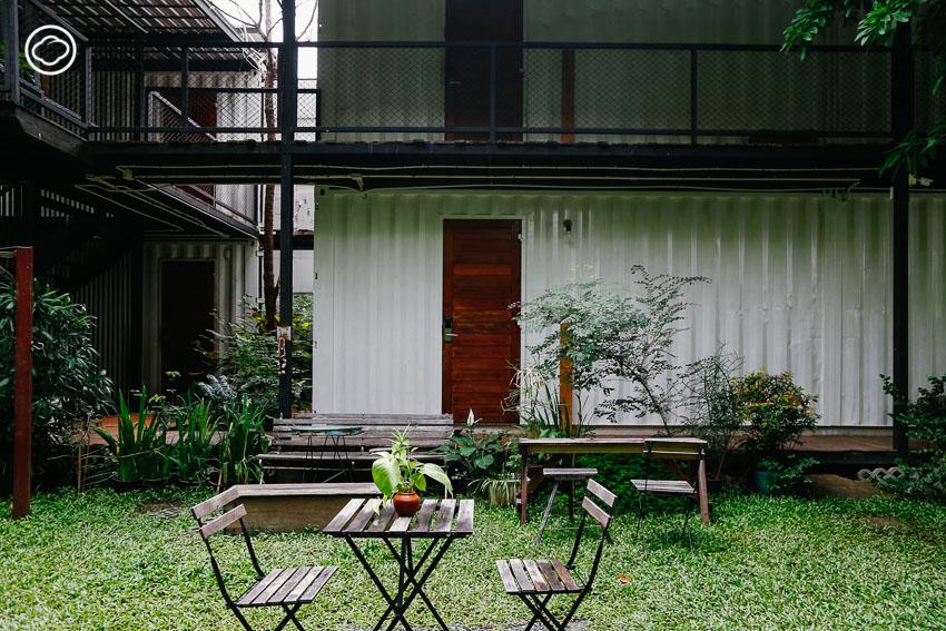 The Yard Hostel, พอแล้วดี The Creator, โฮสเทล อารีย์
